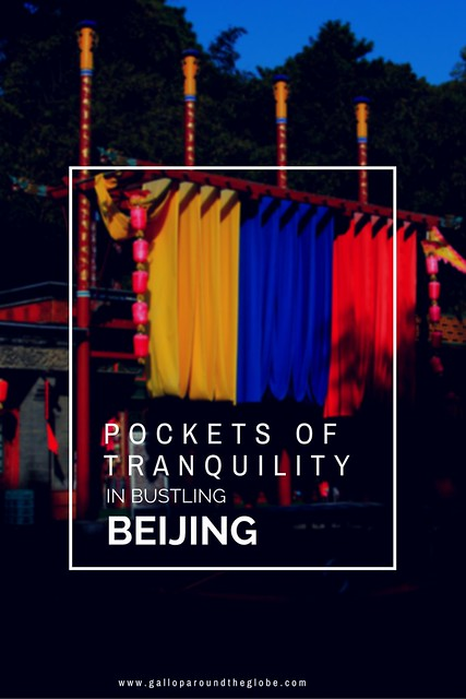 pockets of tranquility in bustling beijing