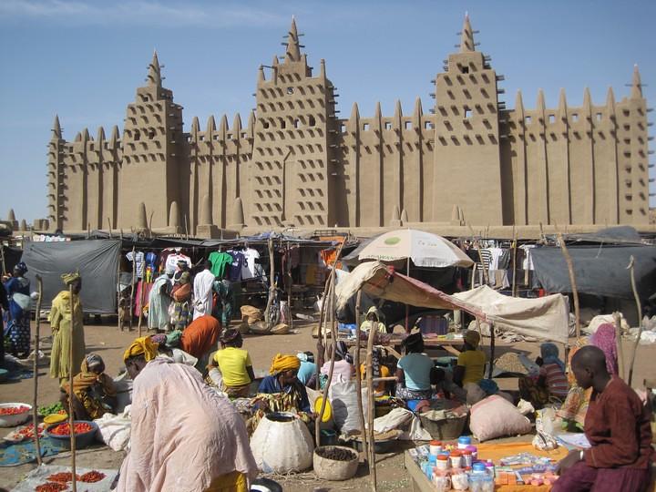 Mezquita de Djenné