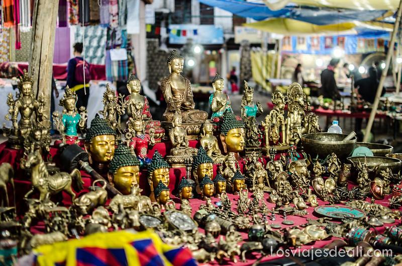tibetan market de Leh