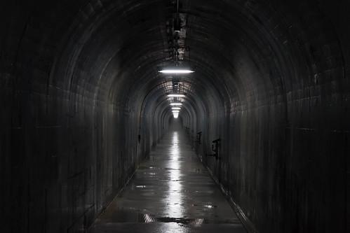 川治ダム監査廊