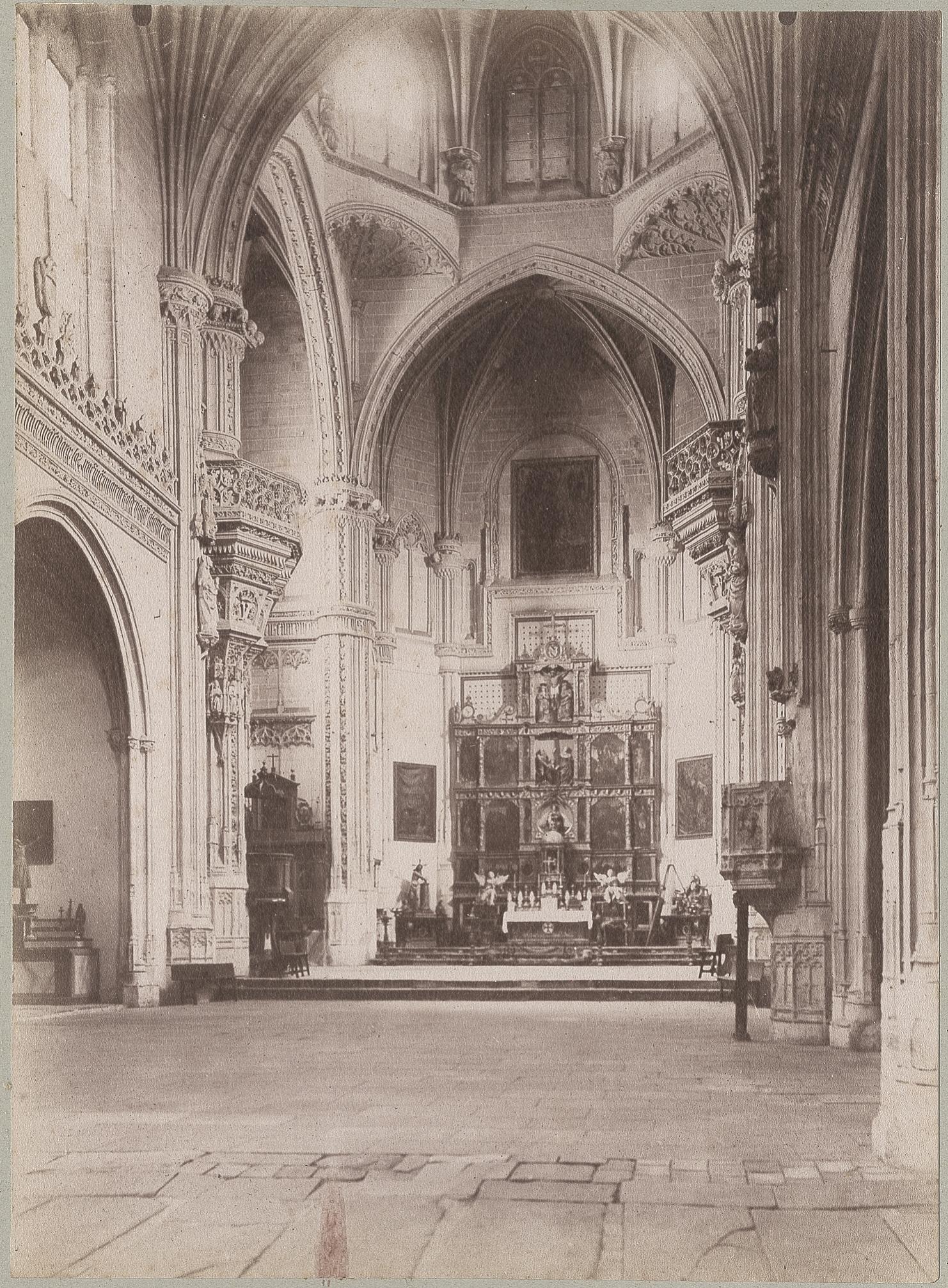 San Juan de los Reyes en 1886 © Archives départementales de l'Aude