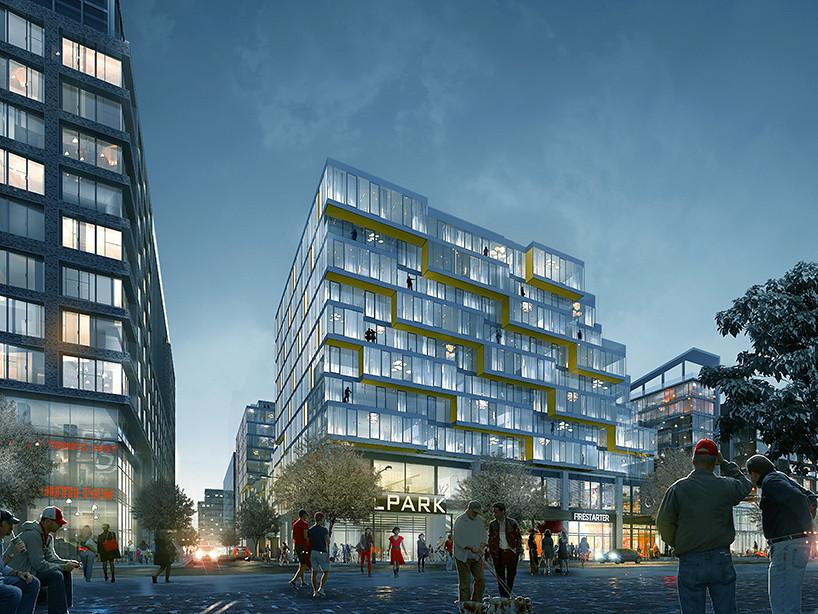 ЖК West Half в Вашингтоне от ODA architecture