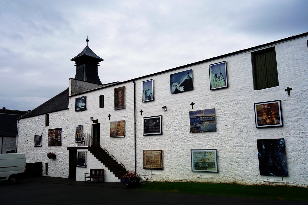Art at Ardbeg Distillery, Islay, Scotland