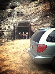 entrance to the yogo mine underground