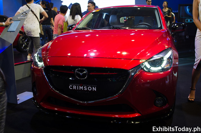 Mazda 2 SkyActiv Crimson (Red)