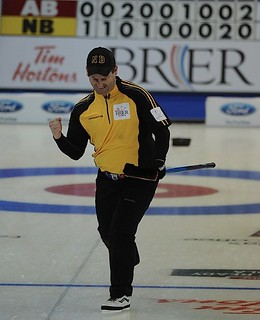 Edmonton Ab.Mar5,2013.Tim Hortons Brier.New Brunswick skip James Gratton.CCA/michael burns photo | by seasonofchampions