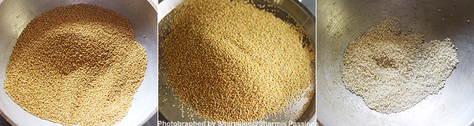 Hot to make Millet Khichdi Mix - Step3