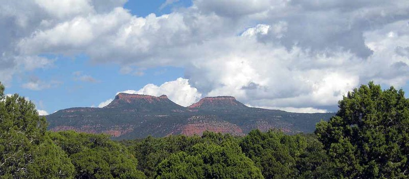 Photo of the Bears Ears buttes. Credit Flickr user JBrew: https://www.flickr.com/photos/brewbooks