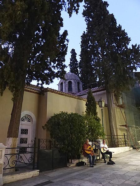 musiciens dans Plaka