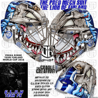 The Pred Mech Suit - The Lion Of Finland - Pekka Rinne, Team Finland, World Cup 2016