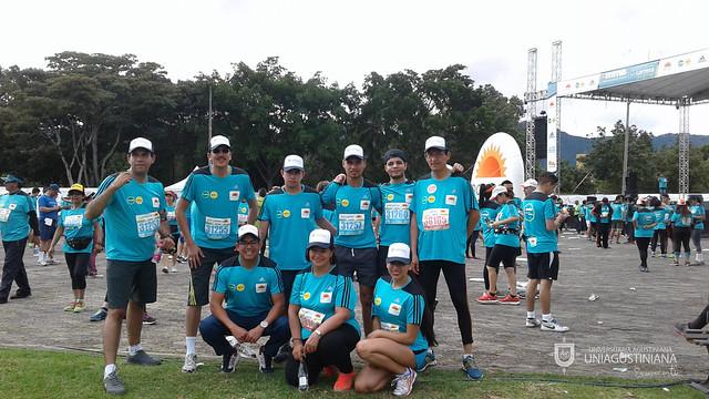 Así vivieron nuestros estudiantes y administrativos la Media Maratón de Bogotá 2016