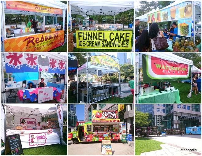 Sweetery Festival vendors