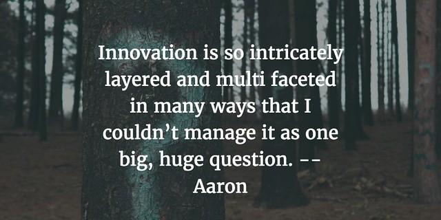 IMMOOC Blog Tour: Aaron