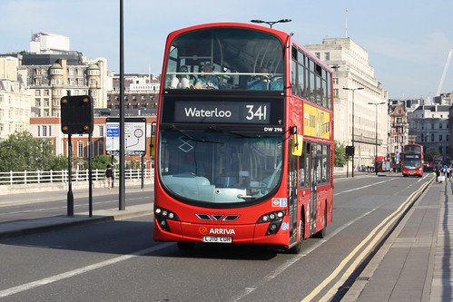 Arriva London North DW296 LJ10CUH