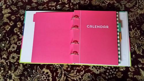 Recollections Planner Calendar