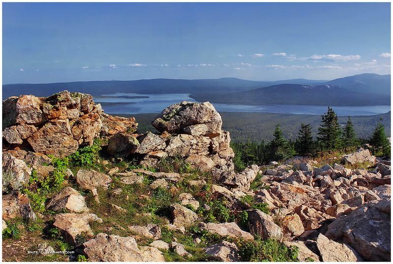 ...ridge Zyuratkul lake view height 1175 m