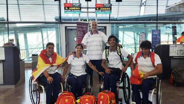 Martín De la Puente en los Juegos Paralímpicos Río 2016