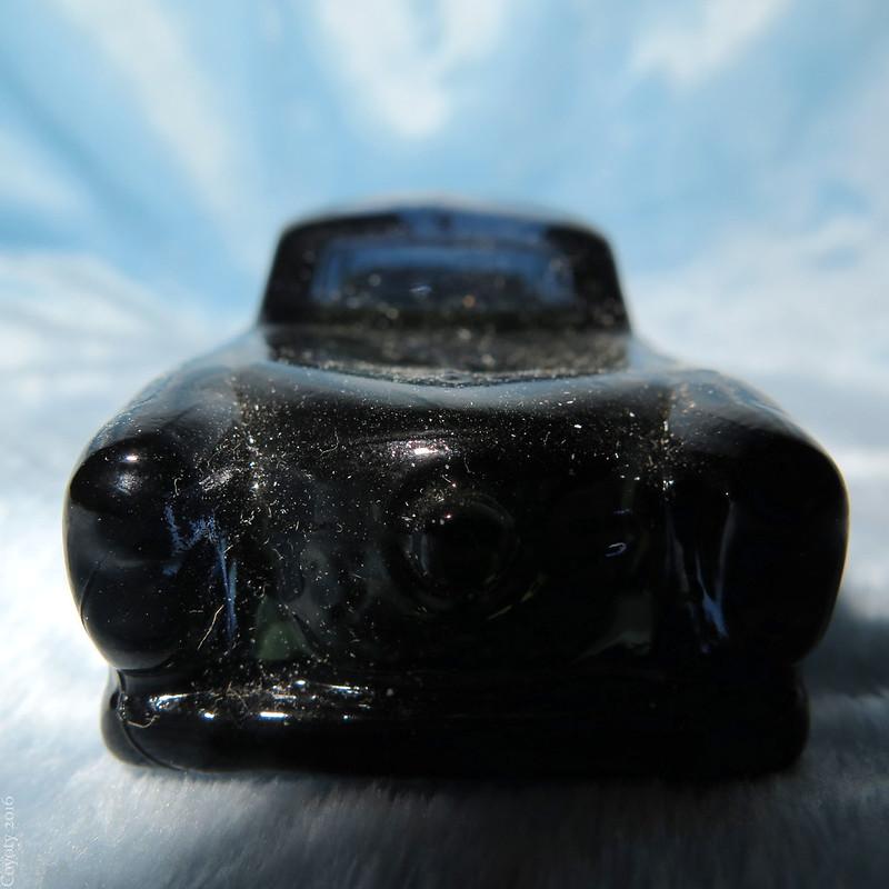 '51 Studebaker Avon Spicy Aftershave bottle