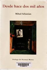 Mihail Sebastian, Desde hace dos mil años