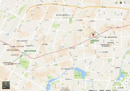 瀋陽地鐵行程