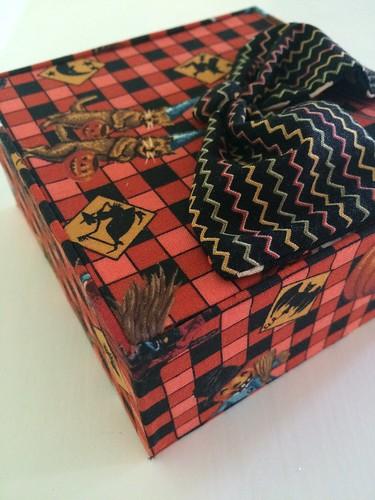 Cartonnage 落し蓋の箱