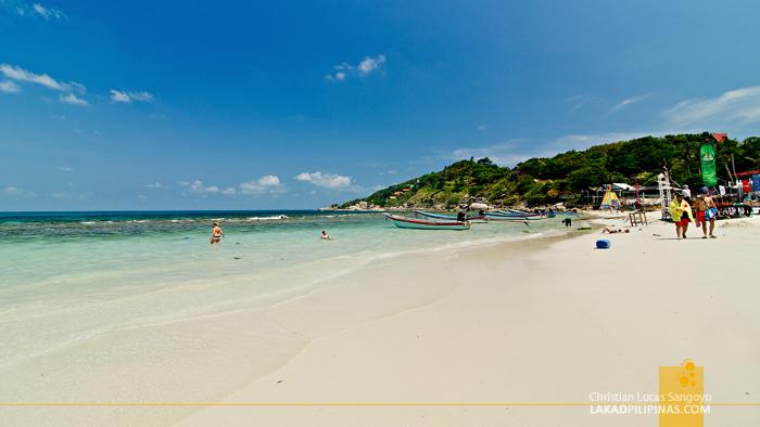 Haad Rin Beach Koh Phangan Thailand