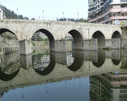 Guizhou13 zunyi xiang jiang miroir 3 jacques beaulieu for Miroir 3 pans