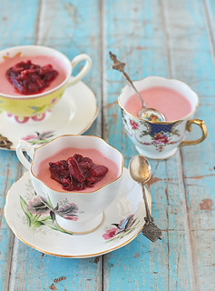 Rhubarb Cupcakes With Cake Mix