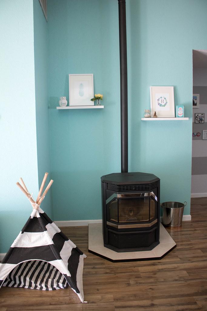 Living Room Pellet Stove