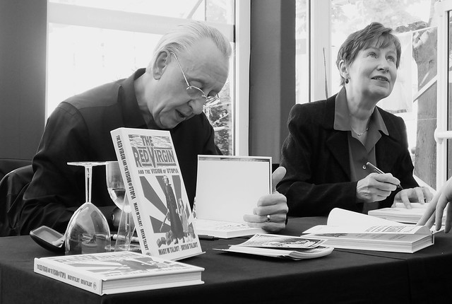 Edinburgh International Book Festival 2016 - Mary & Bryan Talbot 05