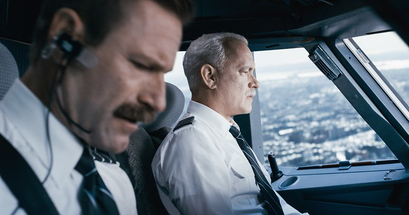 Aaron Eckhart and Tom Hanks stick the landing in SULLY.