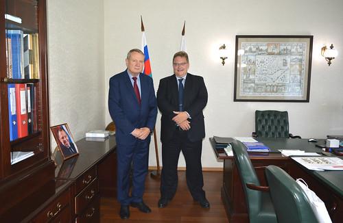 Встреча с Послом Дании в Москве Т.Винклером