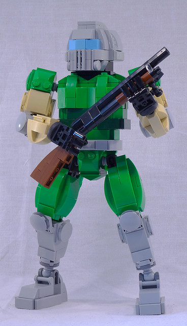 Doomguy Is Here To Blast All Your Lego Demons Back To