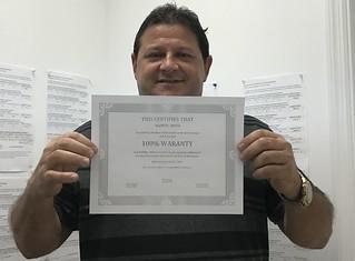 Ramon Moya customer review about Municipal Credit Service