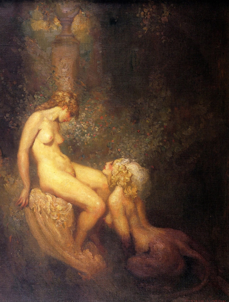 Norman Lindsay - The Sphinx, 1920