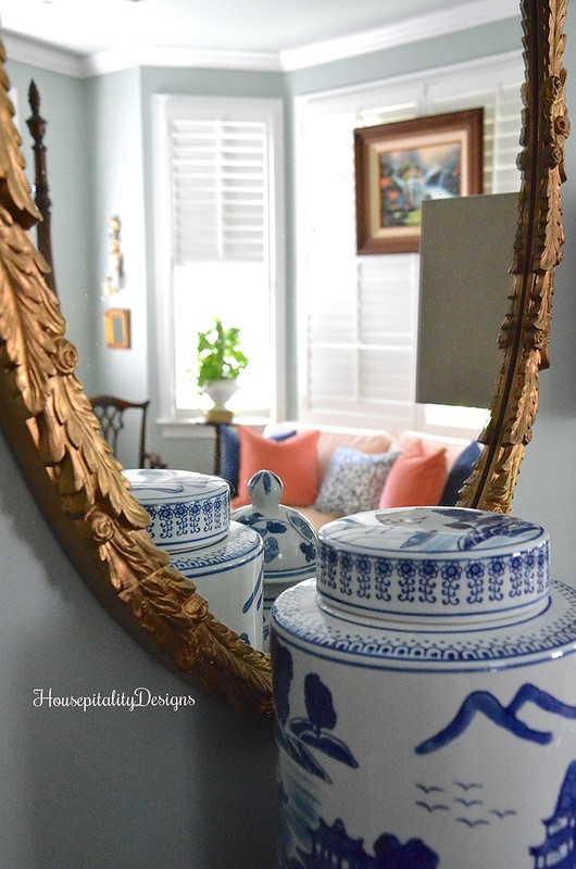 Master Bedroom - Mirror Reflection - Housepitality Designs