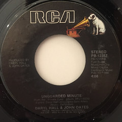 DARRYL HALL & JOHN OATES:I CAN'T GO FOR THAT(NO CAN DO)(LABEL SIDE-B)