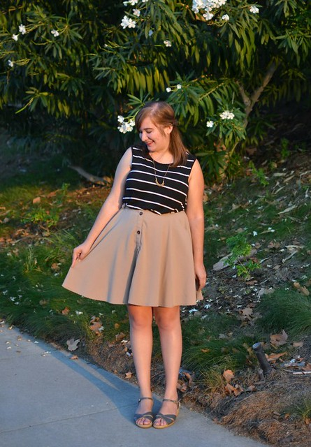 striped-tank-tan-thrifted-skirt
