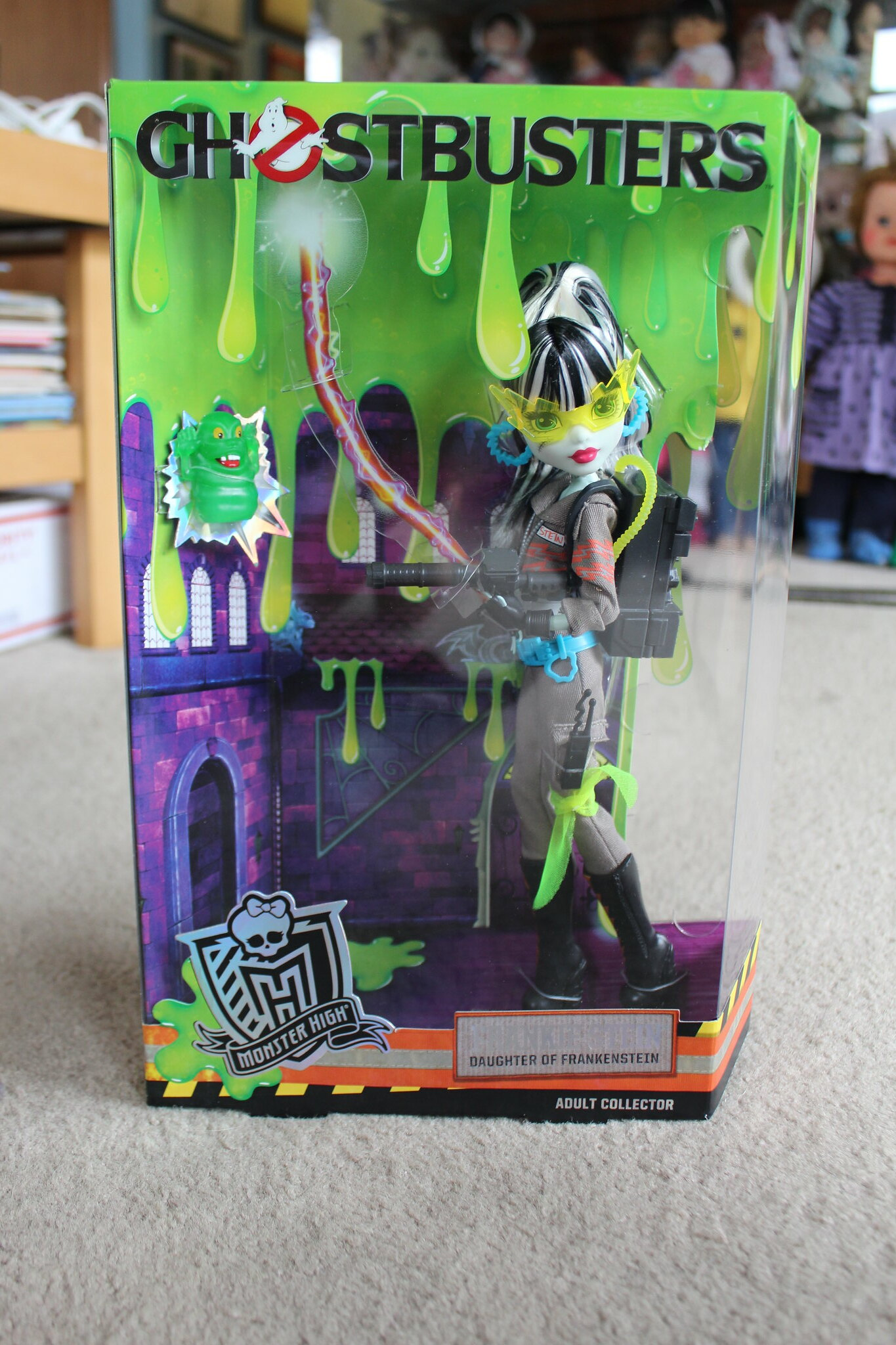 Monster High SDCC Ghostbuster Frankie