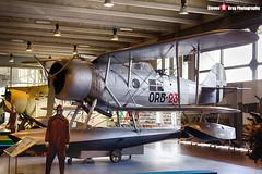 MM27050 ORB-23 - - Italian Air Force - IMAM Ro.43 Maggiolino - Italian Air Force Museum Vigna di Valle, Italy - 160614 - Steven Gray - IMG_9981_HDR