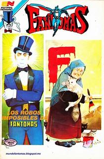 3-62 Los robos imposibles de Fantomas $$