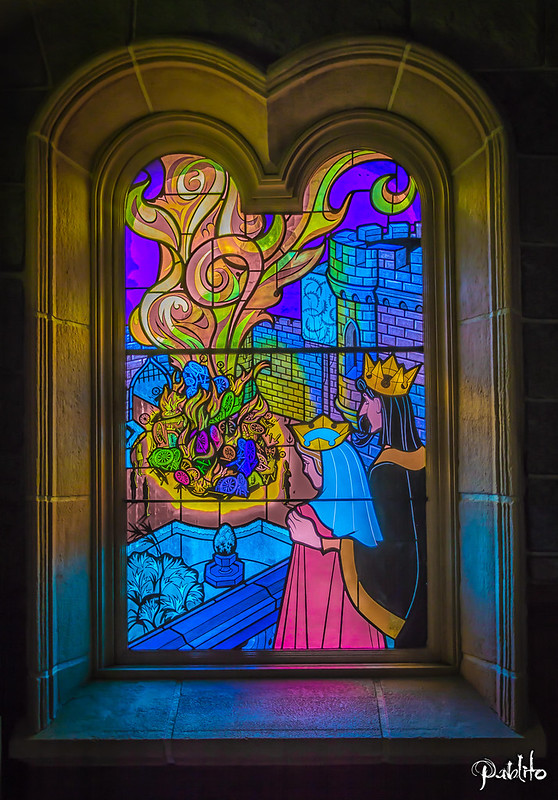 Sleeping Beauty Stained Glass