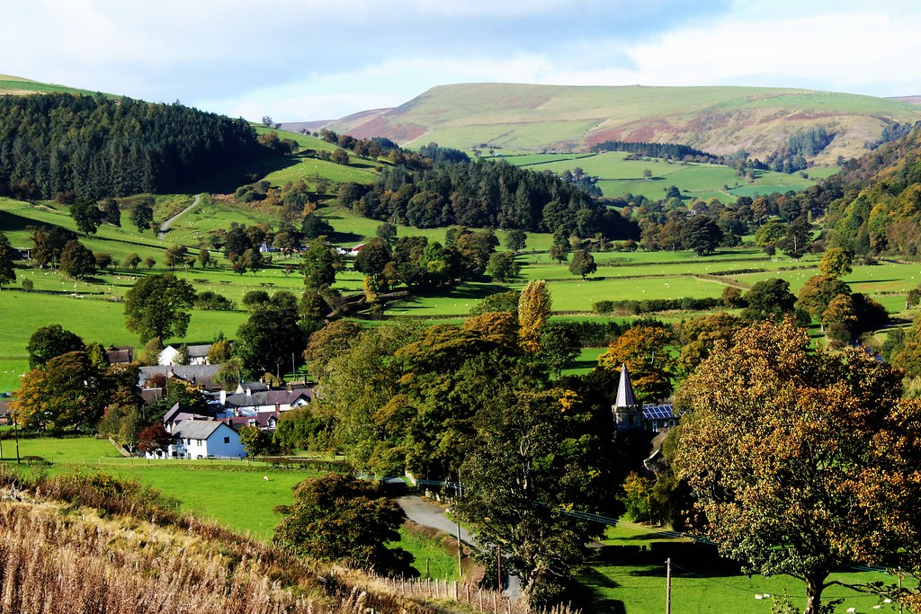 Llanarmon, Ceiriog Valley, Wales
