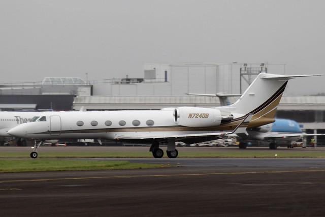 Gulfstream IV N724DB 24JUL16 - Gerallt Marsh