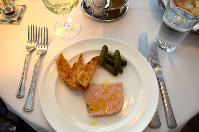 Chicken Liver Pate at Cafe Monico, Soho | www.rchelphipps.com @rachelphipps