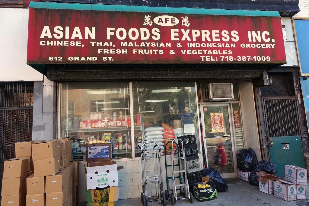 Asian Foods Express | 612 Grand St | Williamsburg | Brooklyn | NYC