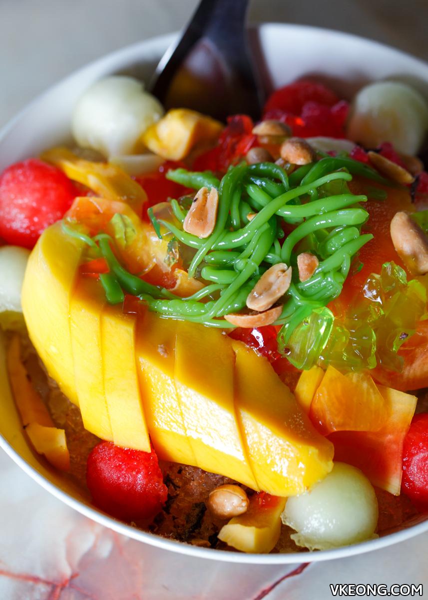 Fei Ma Mixed Fruits Ais Kacang