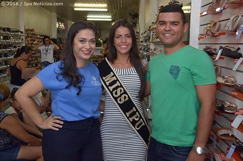 Farias Sport Modas recebe Miss Ipu 2016
