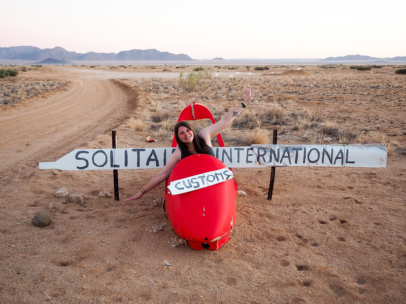 Amanda in Solitaire, Namibia