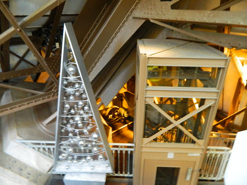 Inside the Eiffel Tower | by amymidd88